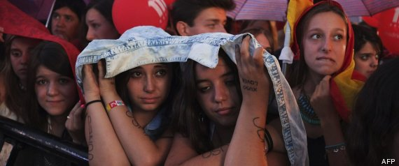 Madrilen porrotak ezustean harrapatu zuen herritar asko, irabaziko zutela saldu baitzieten. (The Huffington Post)