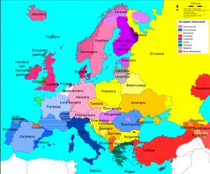 Europako hizkuntzak (Argazkia: IKAS-en web-gunetik hartua)