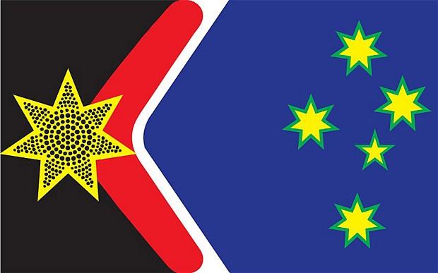 John Blaxlandek proposatutako bandera berria.