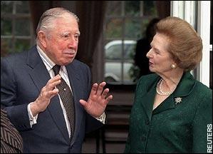 Pinochet eta Thatcher