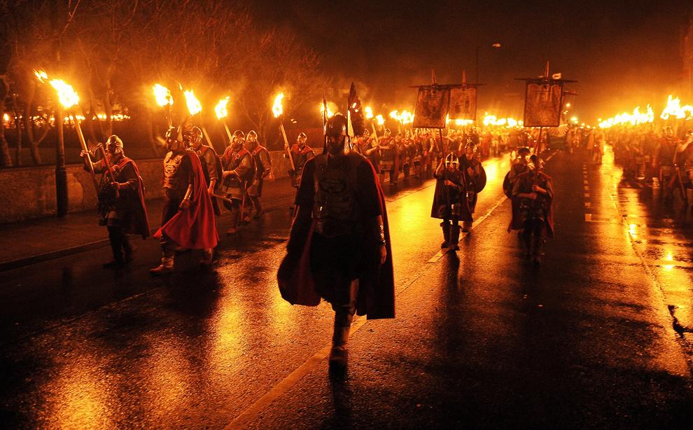 Vikingoen festa.