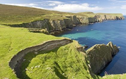 Shetland uharteek benetan leku ederrak behar dute izan.
