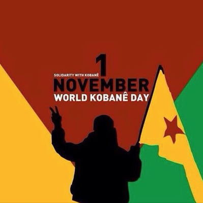 World Kobane Day Poster