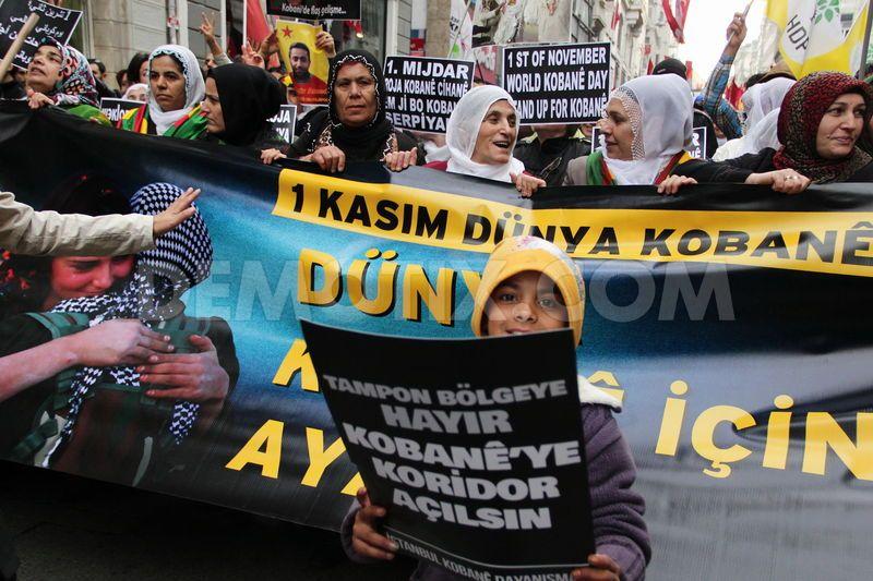 Istanbulen protestak