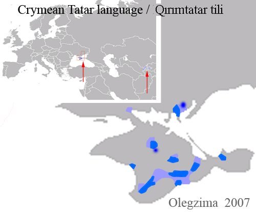 "Irudia: ""Crymean Tatar lang"" by Olegzima - Библиотека Конгресса США ["