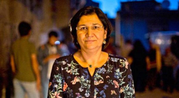Leyla Güven diputatua da gose greba honen sinbolo nagusia.