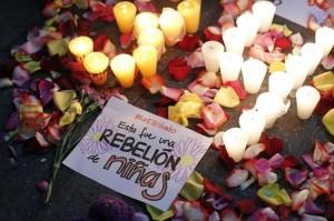Guatemalan burututako protesta. Irudia: Kaos en la red