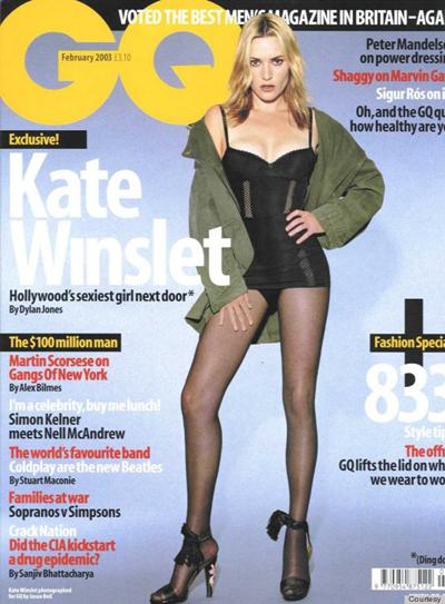 Argazkikoan baino hanka gizenagoak zituen nonbait Kate Winslet aktoreak.