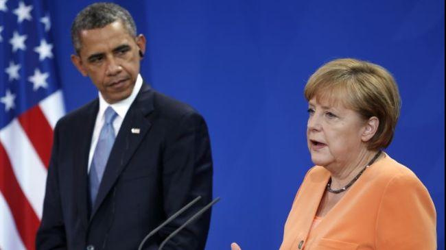 AEBak 2002tik aritu dira zelatatzen Angela Merkel