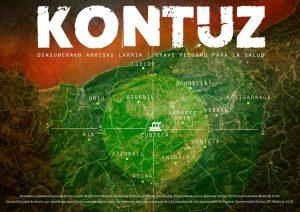 Zubietako errauste plantaren isuriek gehien eraginko dien udalerrien mapa.